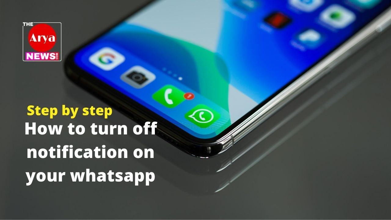 How to turn off or Mute particular chat notification on WhatsApp