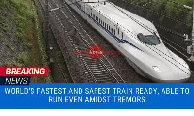 World's fastest and safest train ready, able to run even amidst tremors